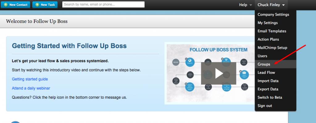 Follow Up Boss Navigation