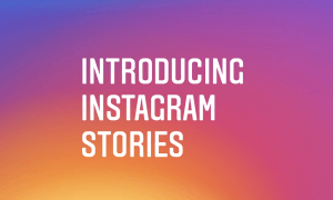 If You're on Instagram, then Try Stories