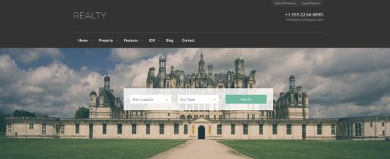 WP Realty WordPress Real Estate Themes