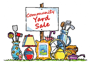 Real Estate Event Idea: Community Garage Sale
