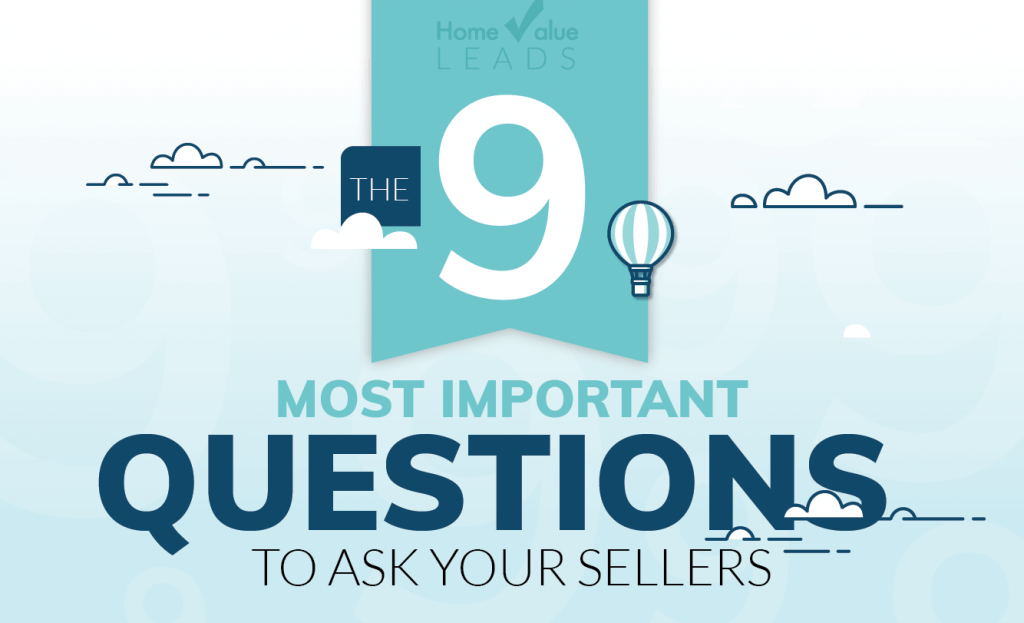 9 Questions your Real Estate Agent Should Be Asking You When Selling Your House